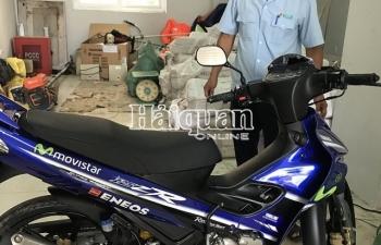 Tịch thu xe mô tô nhập lậu trị giá trên 200 triệu đồng