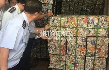Khởi tố vụ xuất lậu 4 container phế liệu nhôm