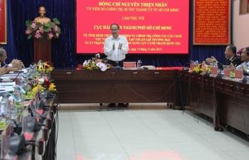 Bí thư Thành ủy TPHCM Nguyễn Thiện Nhân: Cục Hải quan TPHCM tiêu biểu ứng dụng công nghệ số