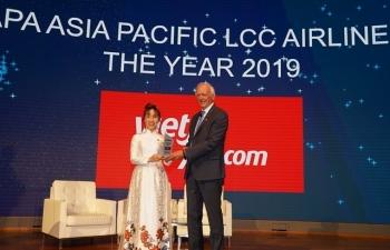"""CAPA vinh danh Vietjet với giải thưởng """"hãng hàng không chi phí thấp tại châu Á Thái Bình Dương 2019"""""""