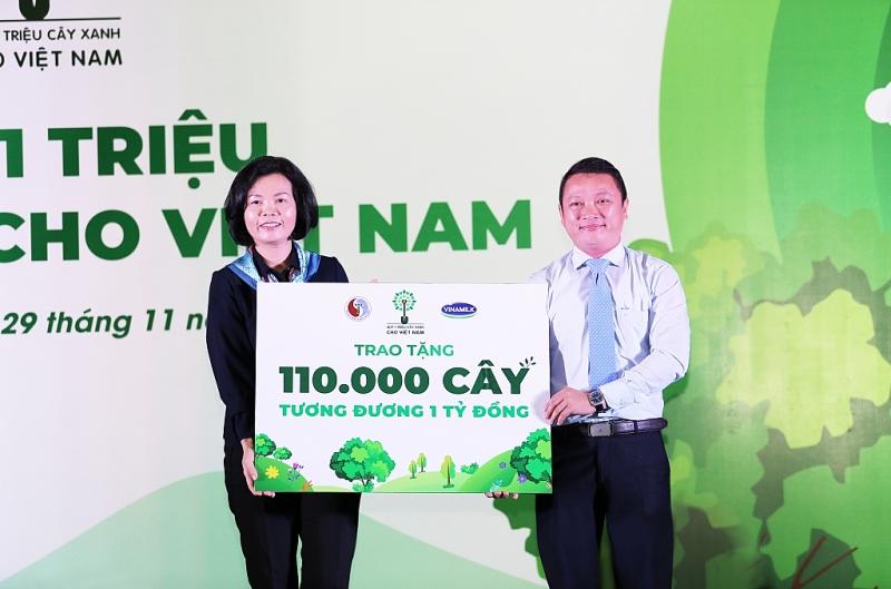 110000 cay xanh duoc vinamilk tang nguoi dan binh dinh