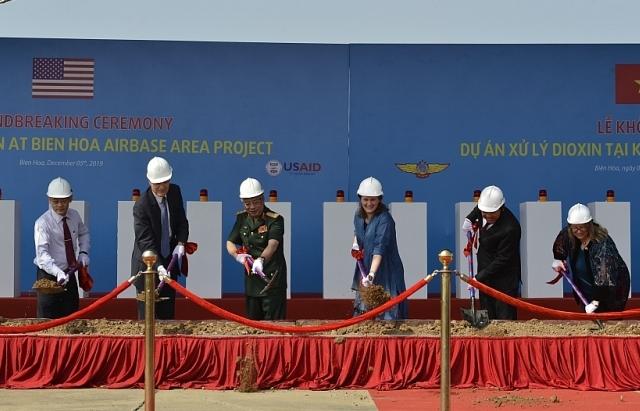 Động thổ dự án xử lý ô nhiễm dioxin tại sân bay Biên Hoà