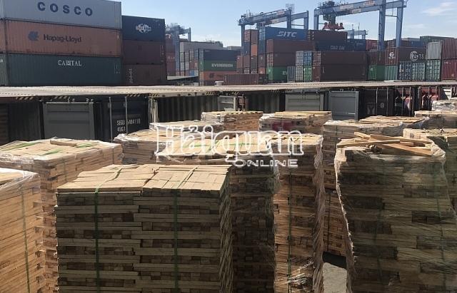 Lô gỗ xuất khẩu gian lận thuế gần 7 tỷ đồng