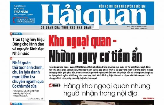 Những tin, bài hấp dẫn trên Báo Hải quan số 4 phát hành ngày 9/1/2020