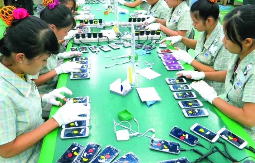 Tăng trưởng xuất khẩu ngành điện tử Việt Nam cao nhất thế giới