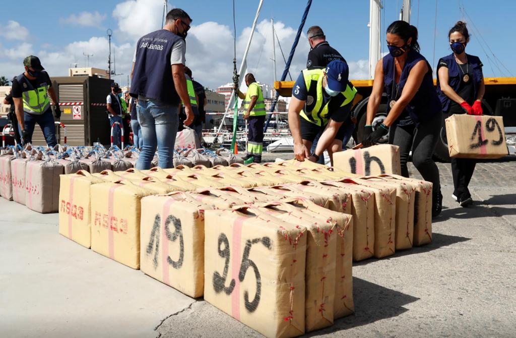 Tây Ban Nha phá án ma túy lớn nhất lịch sử
