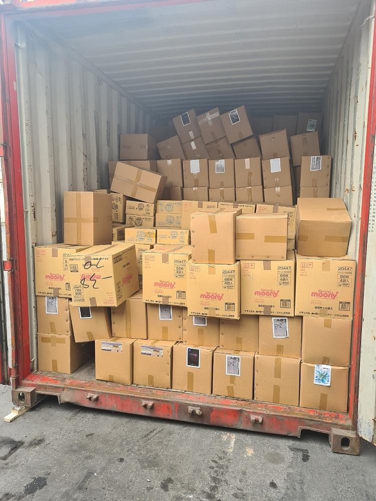 Gần 50.000 bao thuốc lá trong container hàng vi phạm vừa được Hải quan Hải Phòng phát hiện, bắt giữ.