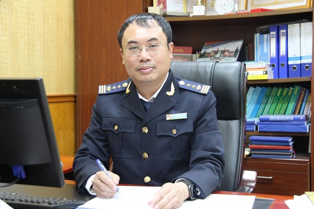 Ông Nguyễn Trần Hiệu, Chánh Văn phòng Tổng cục Hải quan.