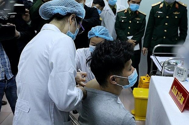 Vắc xin Covid-19 thứ 2 do Việt Nam sản xuất được tiêm thử nghiệm trên người vào tháng 1/2021.