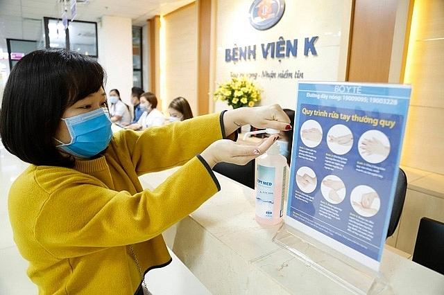 Phòng chống dịch Covid-19 tại các cơ sở y tế có vai trò rất quan trọng. Ảnh: Hà Linh