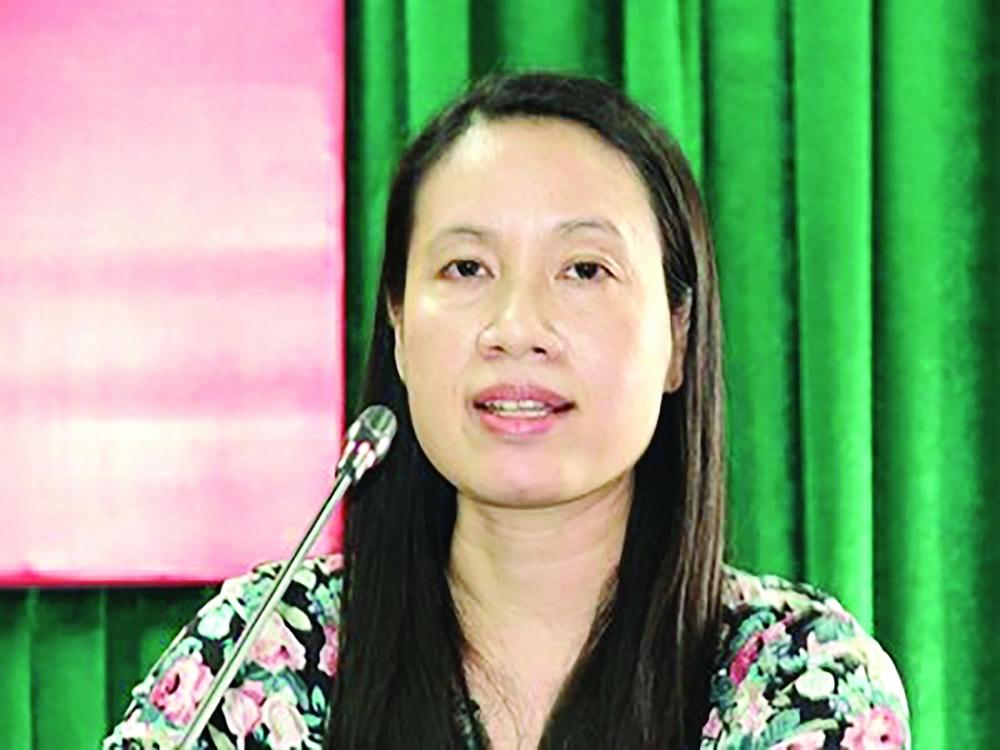 Bà Nguyễn Thị Lan Anh, Vụ trưởng Vụ Quản lý thuế doanh nghiệp nhỏ và vừa, hộ kinh doanh và cá nhân  (Tổng cục Thuế)
