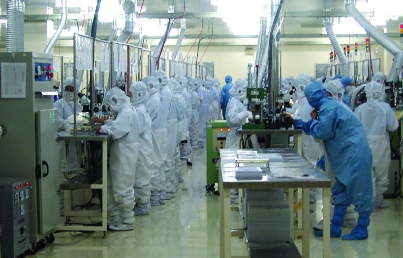 Giá trị xuất khẩu sản phẩm công nghệ cao tăng trưởng mạnh