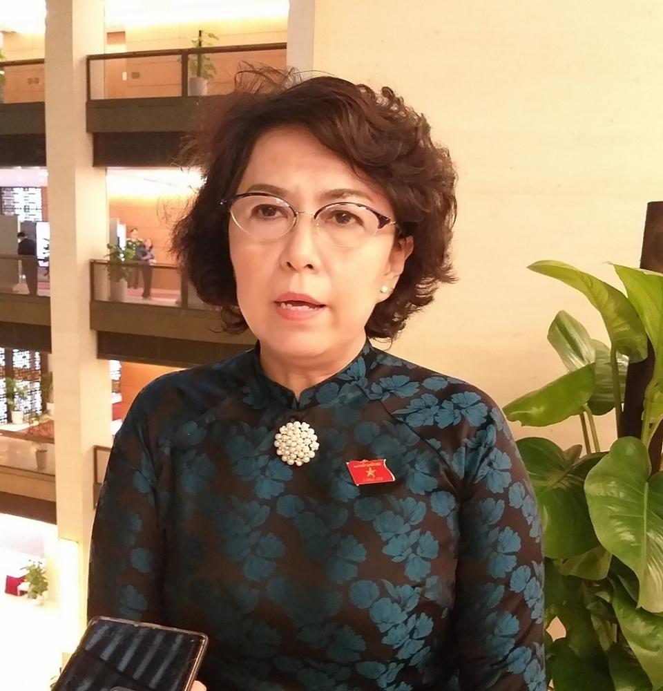 Đại biểu Tô Thị Bích Châu  (TPHCM).