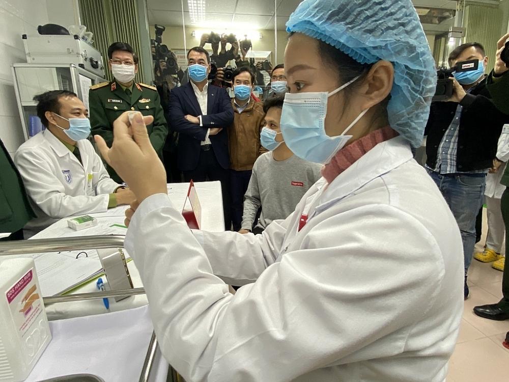 Các vắc xin phòng Covid-19 của Việt Nam đang trong giai đoạn nghiên cứu lâm sàng. Ảnh: ST