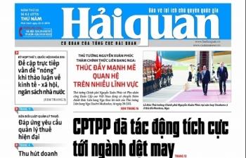 Những tin, bài hấp dẫn trên Báo Hải quan số 62 phát hành ngày 23/5/2019