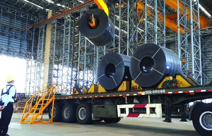 Ngành thép trước sức ép giá nhập khẩu nguyên liệu tăng cao