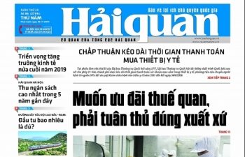 Những tin, bài hấp dẫn trên Báo Hải quan số 86 phát hành ngày 18/7/2019