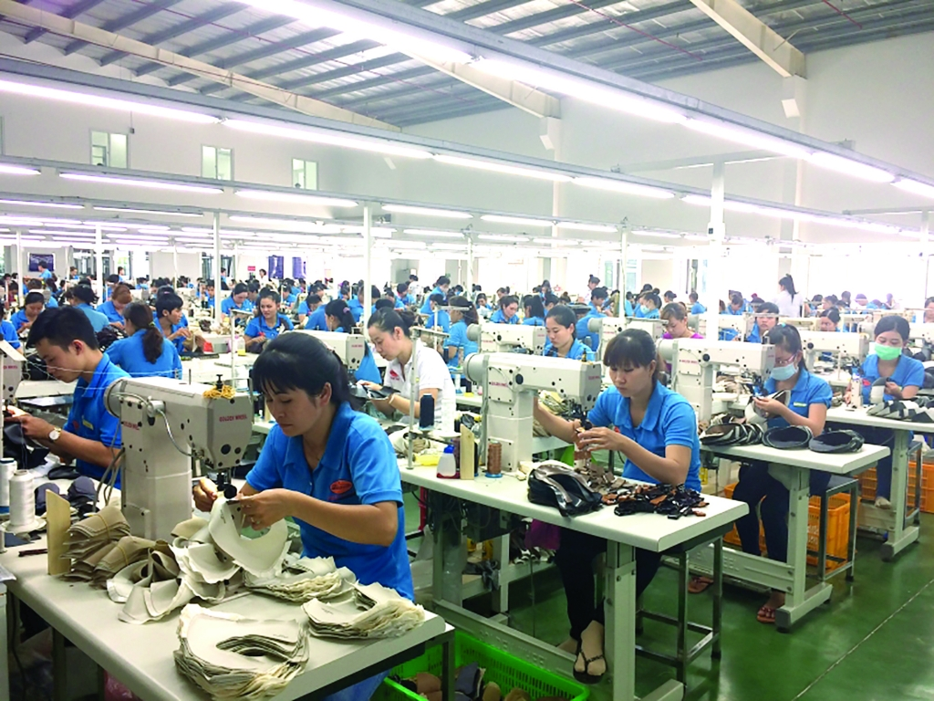 XK da giày năm 2021 dự kiến tăng khoảng 11-12% so với năm 2020. Ảnh: Nguyễn Hiền