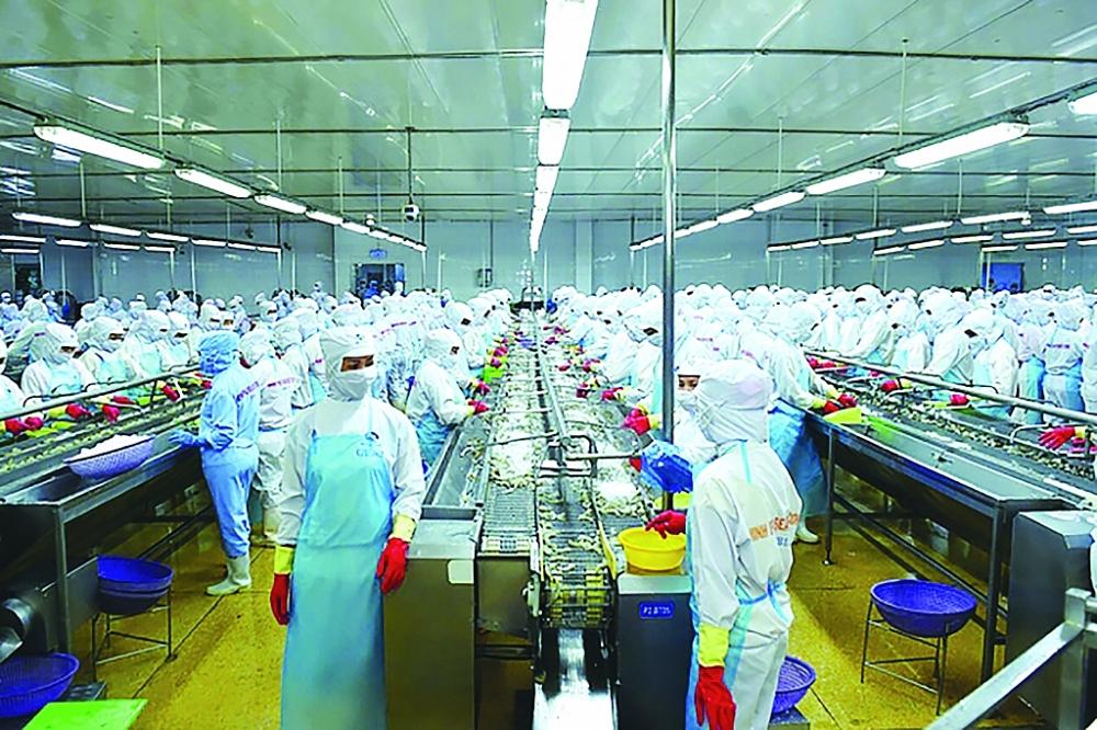 Sẽ xem xét ưu tiên vắc xin cho công nhân ngành hàng tôm và cá tra
