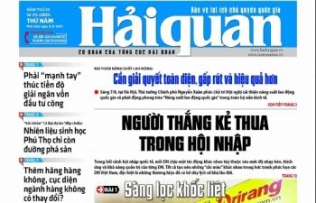 Những tin, bài hấp dẫn trên Báo Hải quan số 95 phát hành ngày 8/8/2019