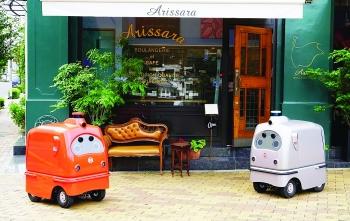 Cuộc đua phát triển robot  giao hàng tại Nhật Bản
