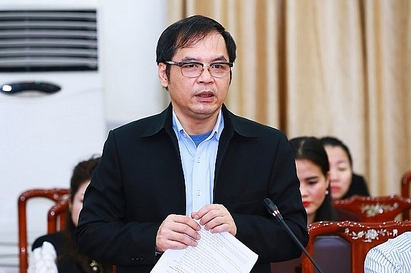 TS. Tô Hoài Nam, Phó Chủ tịch thường trực kiêm Tổng thư ký Hiệp hội Doanh nghiệp nhỏ và vừa Việt Nam.