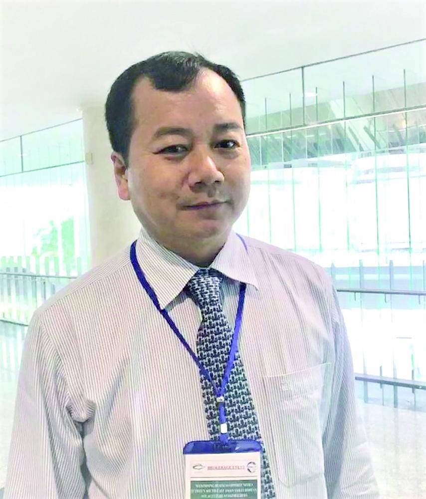 Tổng cục trưởng Tổng cục Thuỷ sản (Bộ NN&PTNT) Trần Đình Luân.