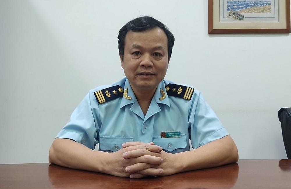 ông Hồ Ngọc Phan Phó Cục trưởng Cục Quản lý rủi ro (Tổng cục Hải quan).