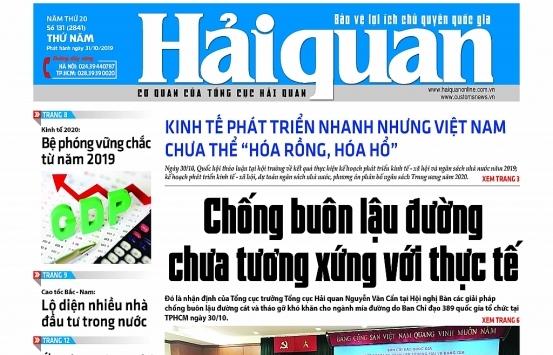 Những tin, bài hấp dẫn trên Báo Hải quan số 131 phát hành ngày 31/10/2019