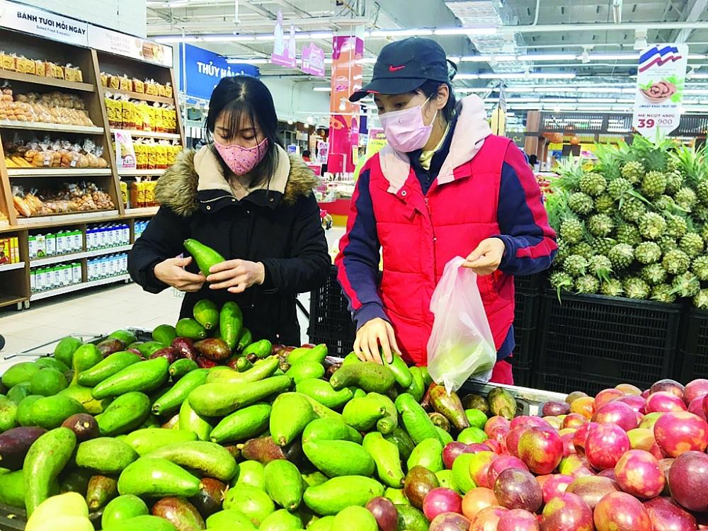 Hàng Việt đang ngày càng được người tiêu dùng trong nước ưa chuộng. Ảnh: N. Thanh