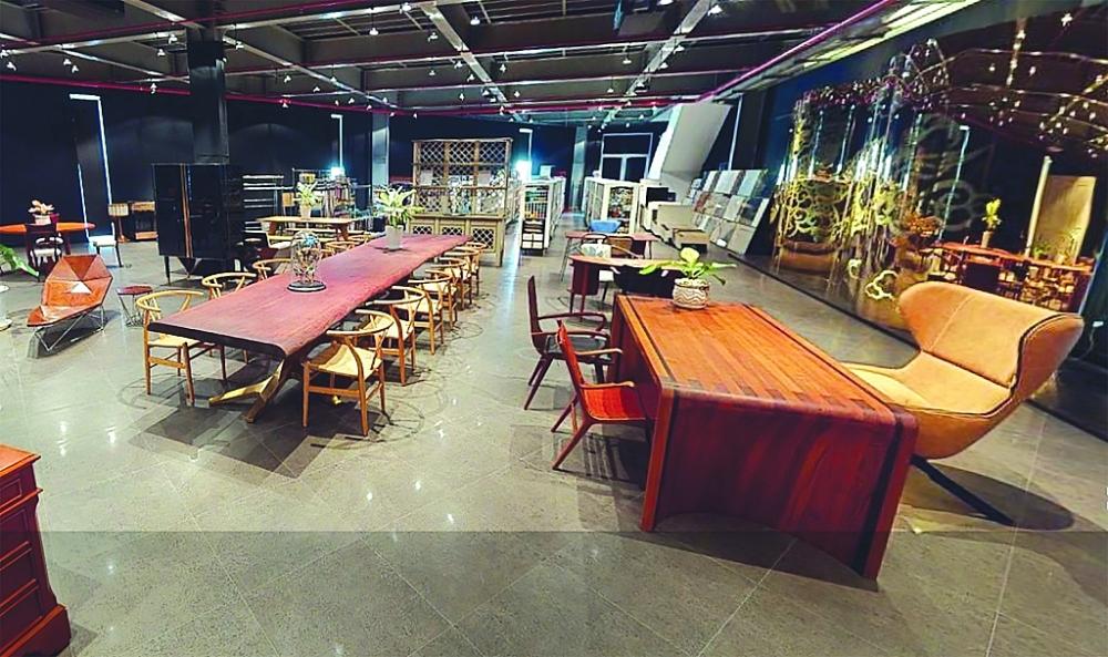 Showroom của AA Corporation trên nền tảng triển lãm trực tuyến Hope Fairs - kênh tiếp thị hiệu quả trong dịch của nhiều DN gỗ, nội thất Việt Nam. Ảnh: N.H