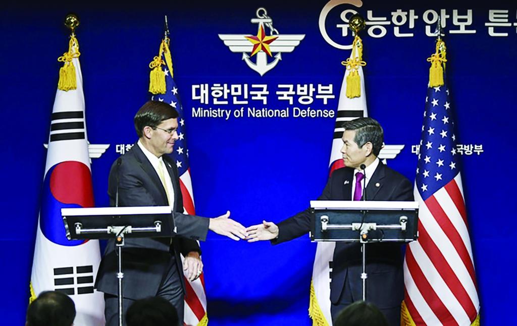 Rạn nứt hiếm hoi trong  quan hệ đồng minh Mỹ-Hàn