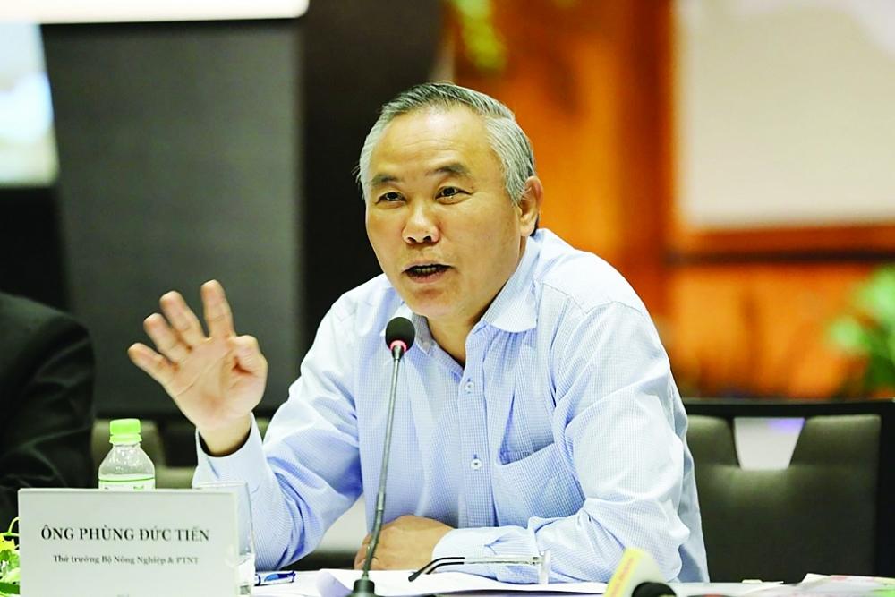 Thứ trưởng Bộ Nông nghiệp và Phát triển nông thôn (NN&PTNT) Phùng Đức Tiến