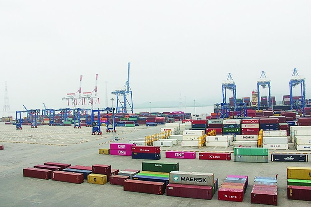 Không những do ảnh hưởng của giao nhận container ở depot mà việc kiểm soát container rỗng của hãng tàu depot chưa tốt cũng đã gây thiếu hụt container ở Việt Nam.  Ảnh: T.Bình