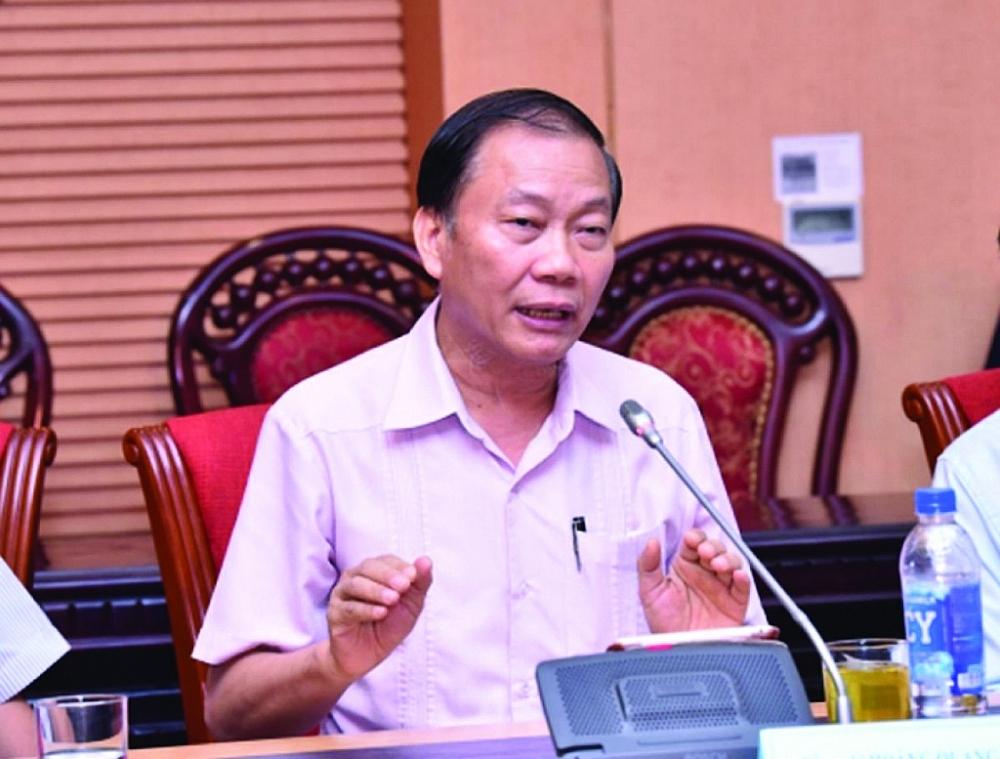 Ông Hoàng Quang Phòng, Phó Chủ tịch Phòng Thương mại và Công nghiệp Việt Nam (VCCI)