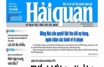Những tin, bài hấp dẫn trên Báo Hải quan số 149 phát hành ngày 12/12/2019