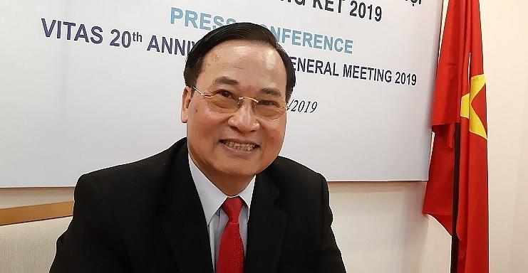 Ông Vũ Đức Giang, Chủ tịch Hiệp hội Dệt may Việt Nam (Vitas).