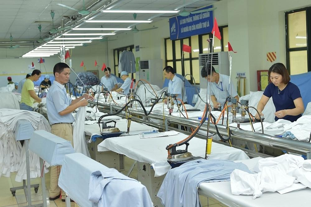 Dệt may là mặt hàng thế mạnh điển hình tăng trưởng XK sang thị trường các nước CPTPP. Ảnh: N.Thanh