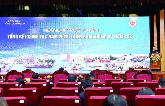 Tổng cục Hải quan triển khai nhiệm vụ năm 2021: Tập trung nguồn lực xây dựng mô hình cơ quan Hải quan thông minh, hiện đại
