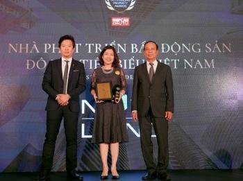 Tập đoàn Novaland đạt giải thưởng nhà phát triển bất động sản đô thị tiêu biểu