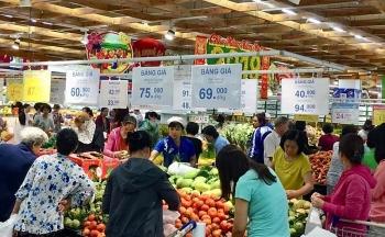 TPHCM: Tổng doanh thu hàng Tết đạt trên 19,8 nghìn tỷ đồng