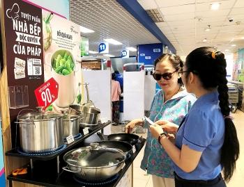 Saigon Co.op tặng hàng triệu sản phẩm bếp cao cấp của Pháp cho khách hàng