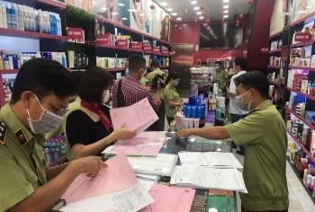 TPHCM: Phát hiện nhiều vi phạm tại một hệ thống cửa hàng kinh doanh mỹ phẩm
