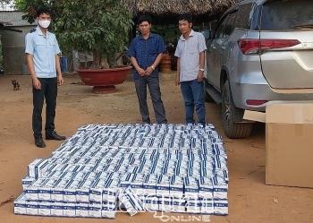 Bình Phước: Tạm giữ 17.350 chiếc khẩu trang y tế xuất lậu qua cửa khẩu Lộc Thịnh