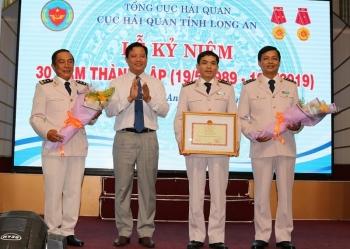 Cục Hải quan Long An kỷ niệm 30 năm thành lập