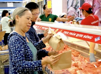 TPHCM: Tiêu thụ thịt heo đang tăng trở lại