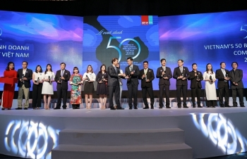 Tôn vinh 50 công ty kinh doanh hiệu quả nhất Việt Nam năm 2018