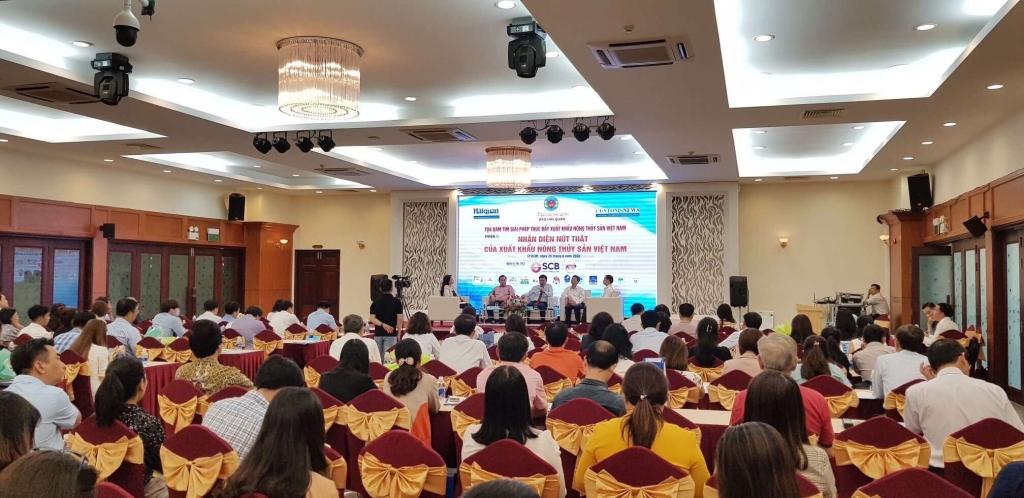 """Những hình ảnh ghi nhận tại Tọa đàm """"Tìm giải pháp thúc đẩy xuất khẩu nông thủy sản Việt Nam"""""""