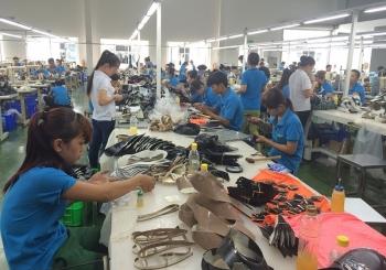 Xuất khẩu của ngành da giày tiếp tục tăng trong năm 2019