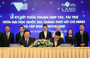 Tập đoàn novaland tài trợ 10 tỷ đồng cho Quỹ phát triển Đại học quốc gia TPHCM